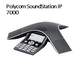 Image of Polycom Soundstation IP7000 phone