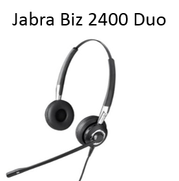 Image of Jabra Biz 2400 Duo headset