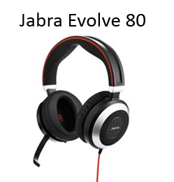 Image of Jabra Evolve 80 headset