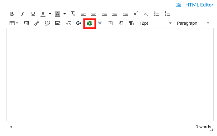 canvas text box