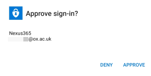 Approve the login only if you have requested it