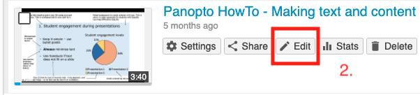 panopto editor button