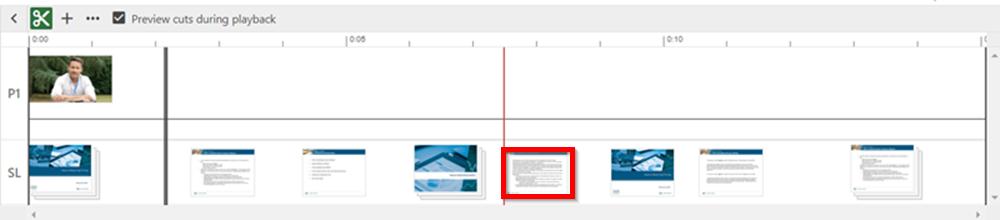 slide timeline