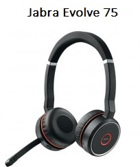Image of Jabra Evolve 75 headset