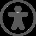 Accessibility page menu icon