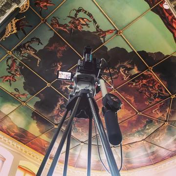 camera in sheldonian